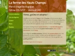 production de légumes diversifiés