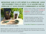 productrice de spiruline