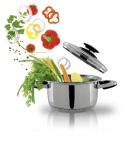 Ustensiles de cuisson à basse température en inox 18/10